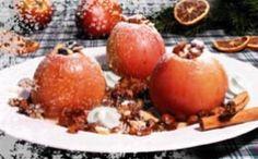 Bratäpfel mit Enzianschaum, Rezept für die kalte Jahreszeit von der Enzianbrennerei Grassl