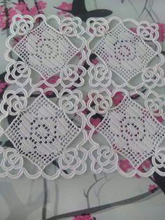 Μοτιφ Crochet Tree, Crochet Lace Edging, Crochet Leaves, Thread Crochet, Filet Crochet, Crochet Flowers, Lace Doilies, Crochet Doilies, Beading Patterns
