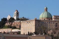 Ancona, Marche, Italy - Palazzo dl Museo Archeologico con Scorcio del Duomo by bygdb - Gianni Del Bufalo, via Flickr