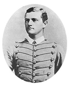 """John Joseph """"Black Jack"""" Pershing (1860–1948) was sworn in as a West Point cadet in 1882. He was a general officer in the US Army who led the American Expeditionary Forces in WWI. Pershing is the only person to be promoted in his own lifetime to General of the Armies, the highest authorized rank in the US Army, signifying service directly under the president. Pershing holds the first United States officer service number (O-1). He was regarded as a mentor by the generation of American…"""