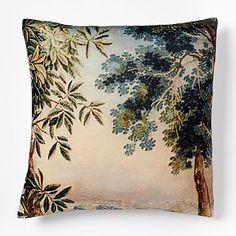 Scenic Landscape Pillow Cover #westelm