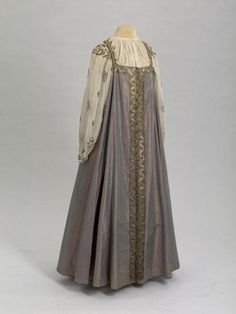 Sarafan, made in Russia, early 19th century