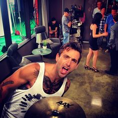Jake on the set of Degrassi! Jacob Hoggard, Love To Meet, My Love, Pretty Men, Make Me Smile, My Eyes, Gentleman, Eye Candy, Handsome