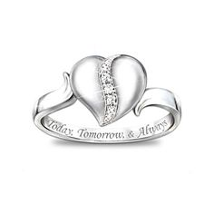 Daughter ring #jewelry.  I can't wait to buy this one day for my sweet Sophia!