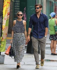 Olivia Palermo - Olivia Palermo and Her Boyfriend Take a Stroll