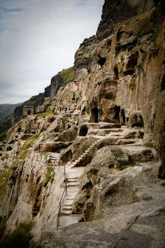 Vardzia Cave – Located at the European country of Georgia. This Legendary Monastery Cave was excavated from the slopes of the Erusheti Mountain in the 12th century.