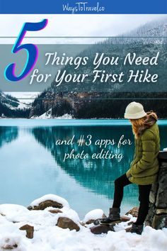 If you're traveling for the first time you'll probably be hiking as well. I will guide you through the jungle of hiking gear and narrow it down to only 5 things you need to buy before your first hike. I will also include; how to test your hiking gear and top 3 apps for photo editing. Prepare for adventure! Hiking Tips | Hiking Gear | Hiking for Beginners | First-Time Travel | Backpacking | Outdoor Adventure | Travel Tips #firsttimetravel #waystotravel #travelsolo #backpacking #hikingadventures Go Hiking, Hiking Tips, Hiking Gear, Things To Do At Home, 5 Things, Adventure Bucket List, Adventure Travel, World Travel Guide, Travel Tips