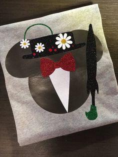 Disney Shirt, Mary Poppins, Umbrella, Icon, Mouse, Head, Ears, Glitter, Sparkle, Trip, Vacation, Kids, Mens, Ladies, Womens Plus Siz by CreativiTeesStudio on Etsy https://www.etsy.com/listing/570611754/disney-shirt-mary-poppins-umbrella-icon