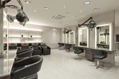 Creating the right atmosphere in your beauty salon is a vital part of attracting and keeping clients. A number of factors influence the atmosphere, including colors, lighting, decor items and display areas. Each section of your salon ought to be organized