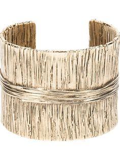 AURELIE BIDERMANN Textured Cuff