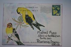 Mail Art Swap by avid_stitcher, via Flickr