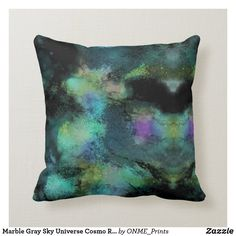 Shop Marble Gray Sky Universe Cosmo Relax Elegant Throw Pillow created by ONME_Prints. Grey Skies, Perfect Pillow, Designer Pillow, Custom Pillows, Cosmos, Your Design, Marble, Universe, Relax