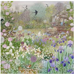 'Summer Garden' by Lucy Grossmith