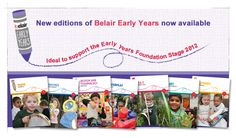 Belair provides a creative approach to learning, a wealth of expert advice and achievable, inexpensive, classroom-tested ideas that you'll use year after year.