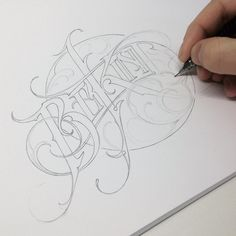 Typographical work of Martin Schmetzer- Trabajo tipográfico de Martin Schmetzer Typographical work of Martin Schmetzer - Typography Drawing, Chicano Lettering, Graffiti Lettering Fonts, Tattoo Lettering Fonts, Graffiti Drawing, Graffiti Alphabet, Lettering Styles, Typography Letters, Typography Logo
