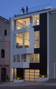 LEED platinum luxury residence in San Francisco by DNM Architect