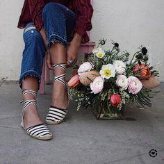 Fleurs x Stripe @soludos