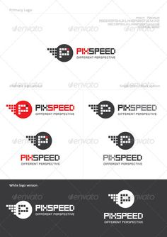 Pixel Speed — Vector EPS #element #data • Available here → https://graphicriver.net/item/pixel-speed/1298957?ref=pxcr