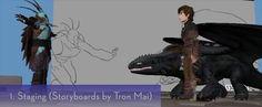 HTD2 Animation Process - Ron Pucherelli
