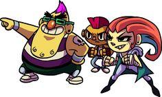 Illustration - The Clunks gang