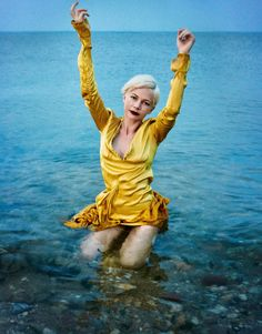 Michelle Williams, photographed by Ryan McGinley for Porter, winter escape 2016.