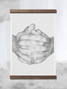 Folded hands - Paper Collective