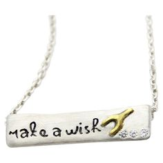 Make a Wish Necklace.