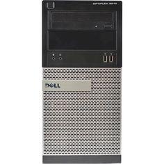 Dell - Refurbished OptiPlex Desktop - Intel Core i5 - 8GB Memory - 500GB Hard Drive - Black, 3010 T-20116