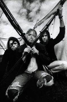 Nirvana - I wish Kurt Cobain was still alive so I could see them :(