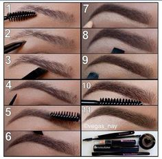 been looking for an easy tutorial on how to do my brows... definitely gonna try this!