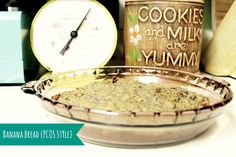 Banana Bread {PCOS Style} - With Great Expectation