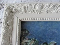 Picture Frames Set of Five Cream Shabby Chic by theshabbychateau, $56.00