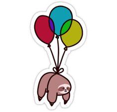 Balloon Sloth by SaradaBoru