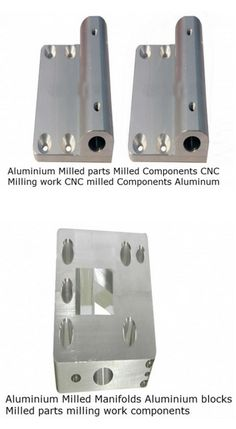 #AluminiumCNCmilledPartsComponents  Conex is one of the largest manufacturers and exporters of all typess of Aluminium milled parts CNC milled components turned parts Milled manifolds for hydraulics, fastening, electrical , Automotive, HVAC, Pneumatic industries. We have CNC milling machiens which can cnc mill, bore, thread vertically as well as horizantally on Alumnium bars.