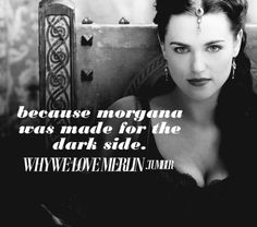 Lady Morgana was made for the dark side. This is one of the reasons why I love Merlin TV show. Merlin Morgana, Steve Martin, Katie Mcgrath, Black And White Pictures, Best Tv Shows, My Heart Is Breaking, Luther, Supergirl, Dark Side