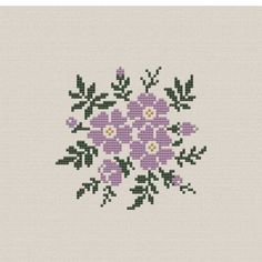 Flower Buds free cross stitch pattern from Alita Designs Tiny Cross Stitch, Cross Stitch Heart, Cross Stitch Borders, Counted Cross Stitch Kits, Modern Cross Stitch, Cross Stitch Flowers, Cross Stitch Designs, Cross Stitch Embroidery, Cross Stitching