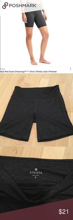 """BF⚡️SALE: High Rise Chaturanga 7"""" Quest Short High rise Quest Chaturanga 7"""" Short from Athleta. Like new condition. Color as shown in cover photo. Athleta Shorts"""