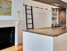 Bunker Workshop Kitchen Ladder, Remodelista
