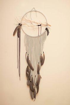 Branch Dreamcatcher Shrike  14 heather gray dream by BartonHollow