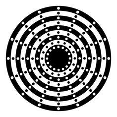 b&w dots