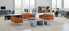 The Endorse Collection from HON is a multi-functional assortment of office task chairs, lounge seating and occasional tables. Learn more at hon.com/Endorse #design #office Distribuido en Colombia y en Chile por www.famocdepanel.com