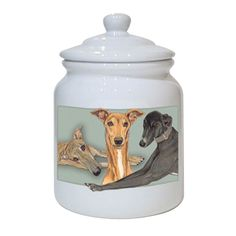 Treat Jar - Greyhound