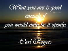 Carl Rogers - Humanistic Approach Counseling Quotes, School Counseling, Carl Rogers Quotes, Counselling Theories, Empath Types, Overcoming Depression, Highly Sensitive Person, Psychology Quotes, Therapy Tools