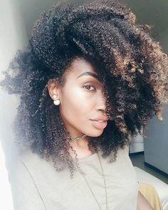 natural hair, afro hair, and kinky hair image
