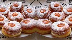 Lekváros szalagos: Ez a legegyszerűbb fánk! - Blikk Rúzs Doughnut, Cheesecake, Muffin, Pizza, Sweets, Breakfast, Desserts, Food, Morning Coffee