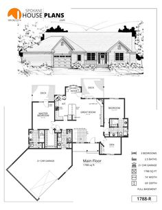 Home Interior Planning Projects. Intend to make your home seem like new? Would like to increase the attractiveness and selling ability of your house? It is simpler and less expensive than it may seem. Basement House Plans, Bedroom House Plans, Dream House Plans, Small House Plans, House Floor Plans, Home Decor Bedroom, Basement Stairs, Basement Bathroom, Bedroom Ideas