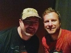 Todd with Dierks Bentley