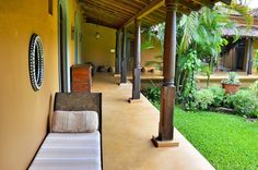 Avanilaya luxury villa in Goa is a 24 acre paradise. A paradise within a paradise, there are very few places left like it in Goa, or indeed the world. Goa Travel, Goa India, Indian Homes, Vacation Style, Secret Places, Tropical Houses, Yoga Retreat, Luxury Villa, Lodges