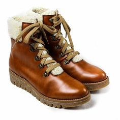 Aspen Hiker Boot in Cognac from Bhava – MooShoes