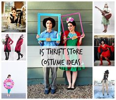 You don't have to break the bank to create the perfect disguise--but you can rob it with a DIY robber costume and 14 other thrift store Halloween costumes. Teen Boy Halloween Costume, Easy Halloween Costumes For Women, Halloween Diy, Halloween Makeup, All Family, Diy Halloween Decorations, Looks Cool, Costume Ideas, Cosplay Ideas